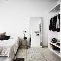 идея стильного декорирования стиля спальни фото