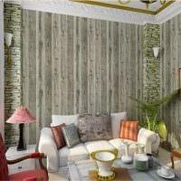 вариант яркого дерева в стиле комнаты фото