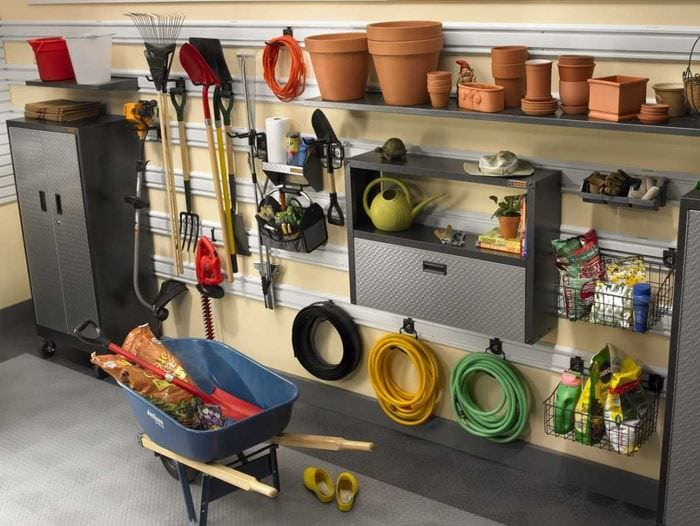 идея современного дизайна гаража