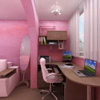 идея красивого дизайна спальни для девочки картинка