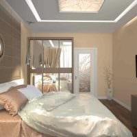 идея яркого стиля 2 комнатной квартиры картинка пример