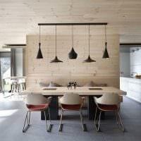 идея красивого стиля дома в дереве картинка