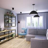 идея современного декора спальни 3-х комнатной квартиры фото
