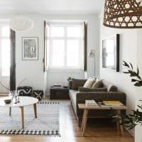 идея яркого интерьера квартиры 2017 года картинка