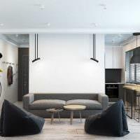 вариант красивого дизайна квартиры картинка