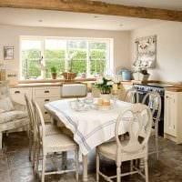 идея современного интерьера квартиры в деревенском стиле картинка