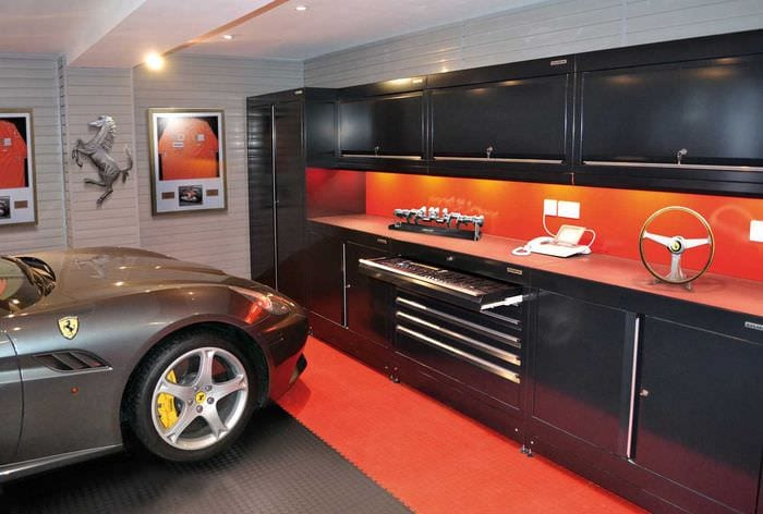 идея оригинального стиля гаража