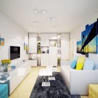 идея оригинального стиля квартиры картинка