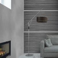 вариант яркой декоративной штукатурки в стиле квартиры под бетон фото
