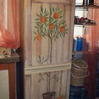 вариант состаривания мебели своими руками картинка