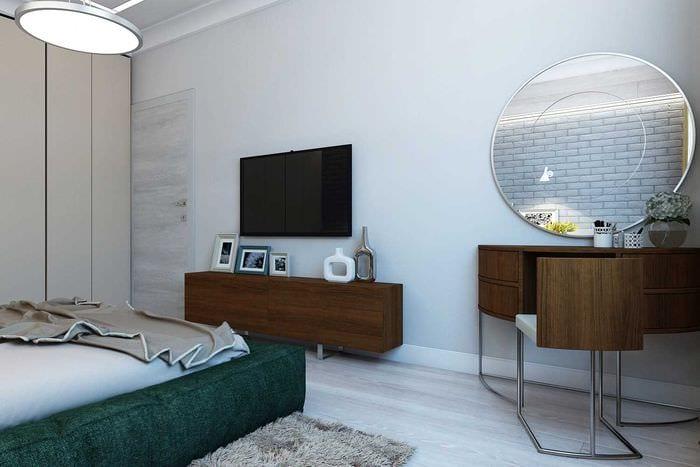 идея красивого декора кухни 3-х комнатной квартиры
