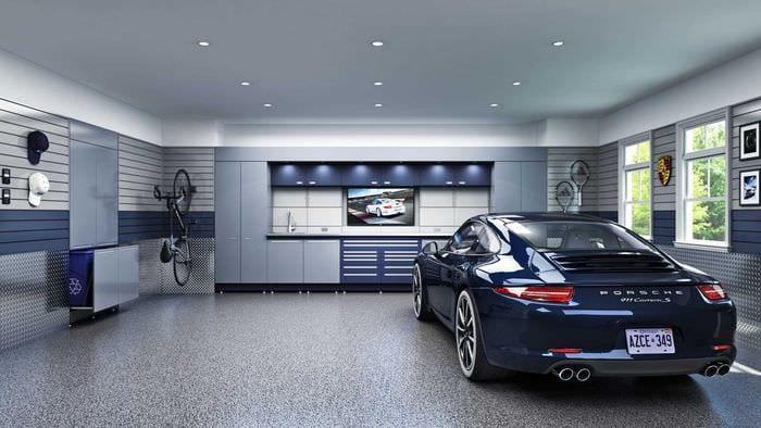 внутренняя дизайн гаража картинки образом