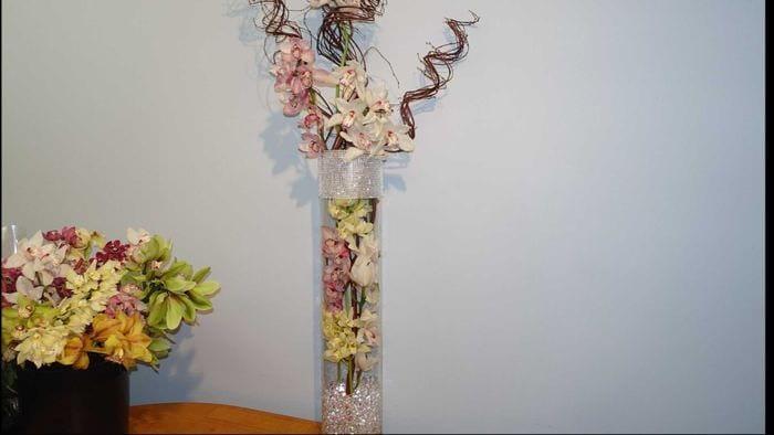 Цветы для высокой вазы своими руками Sqezo