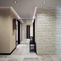 вариант необычного декоративного камня в стиле квартиры фото