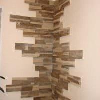 идея оригинального декоративного камня в стиле комнаты картинка
