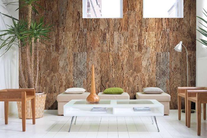 идея необычного дерева в стиле комнаты