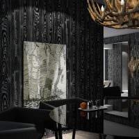 идея яркого дерева в стиле комнаты фото