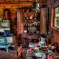 идея оригинального интерьера дома в деревне картинка