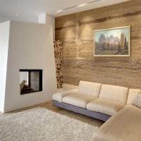 идея яркого фасада квартиры с декоративной штукатуркой картинка