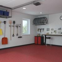 идея красивого оформления гаража картинка