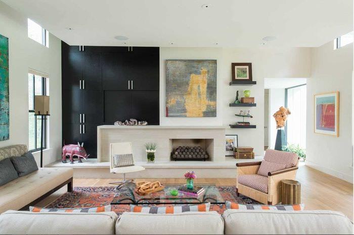 идея необычного стиля квартиры 2017 года