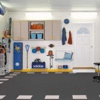 вариант функционального дизайна гаража картинка