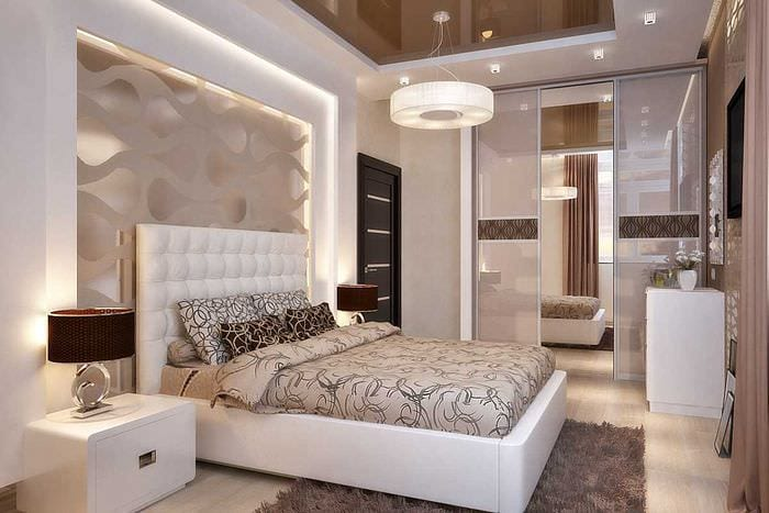 вариант красивого интерьера комнаты 2017 года