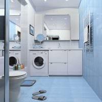 вариант необычного дизайна ванной комнаты в квартире фото