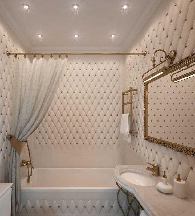 идея красивого дизайна ванной