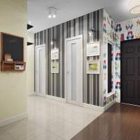 вариант красивого интерьера коридора фото