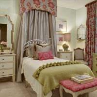вариант оригинального стиля комнаты для девочки картинка