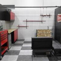 вариант функционального стиля гаража фото