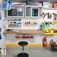 вариант современного дизайна гаража картинка