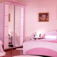 идея оригинального дизайна комнаты для девочки фото