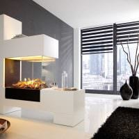 идея оригинального интерьера вазы с декоративными ветками картинка