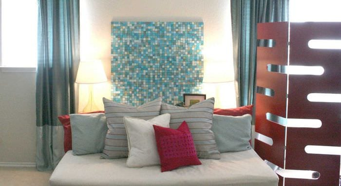 идея яркого декорирования стен