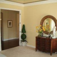 вариант яркого декорирования углов в квартире картинка