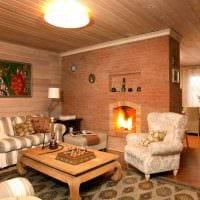 идея оригинального стиля дома в деревне фото