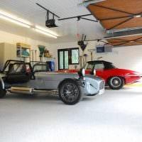 вариант оригинального интерьера гаража картинка