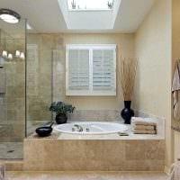 идея оригинального стиля ванной картинка