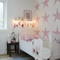 идея цветной интерьера комнаты для девочки фото