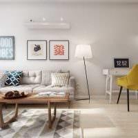 идея необычного дизайна 2 комнатной квартиры картинка пример