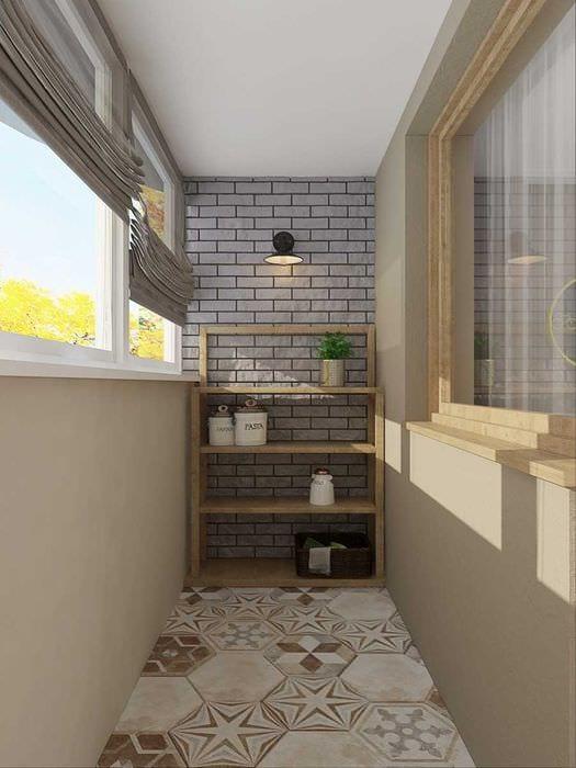 идея красивого дизайна 2 комнатной квартиры