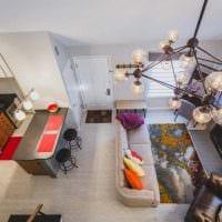 идея необычного интерьера квартиры 2017 года картинка
