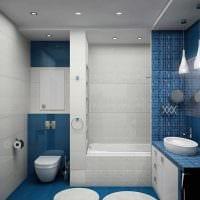 идея необычного дизайна ванной комнаты в квартире картинка
