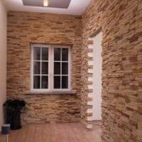 идея красивого декоративного камня в стиле комнаты фото