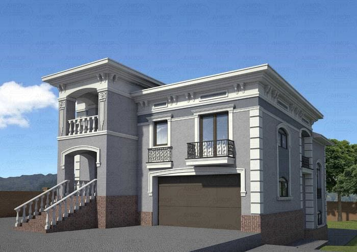 идея яркого декорирования дома