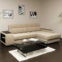 идея красивого дизайна квартиры с диваном фото