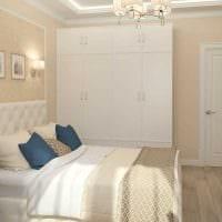 вариант яркого интерьера 2 комнатной квартиры картинка пример