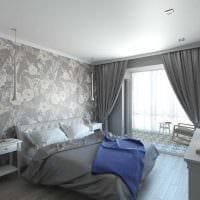 вариант необычного интерьера 2 комнатной квартиры фото
